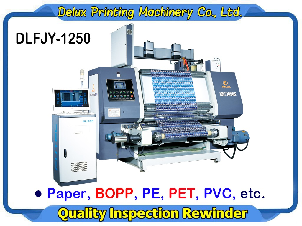 HIGH SPEED Computerized Quality Inspection Rewinder