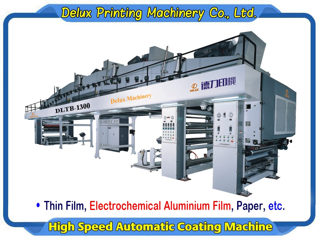 Coating Machine for Film, Hot Stamping Foil, Paper