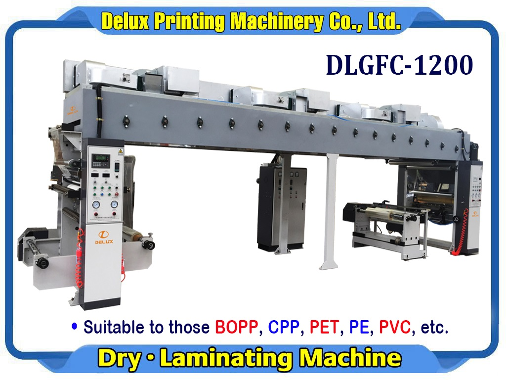 High Speed Automatic dry Laminator